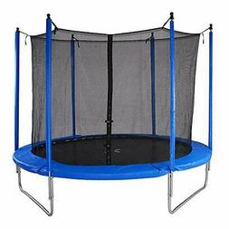 Bluerise Easy To Assemble 6 Feet Kids Trampoline With Enclos