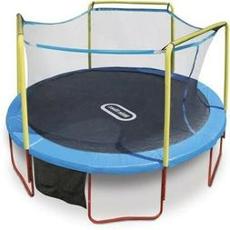 Little Tikes  Bounce 14-Foot Trampoline, with Enclosure, Blu