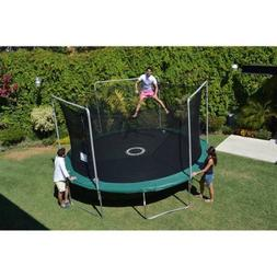 BouncePro 15; Trampoline and Enclosure Combo with Electron S