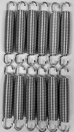 "BouncePro 5.5"" Replacement Springs, Silver 12"