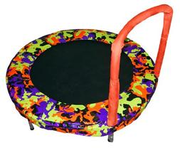 Bouncer Trampoline in Camo Orange
