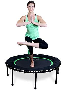 Leaps & ReBounds Bungee Rebounder - in-Home Mini Trampoline