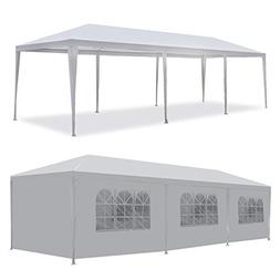 MCombo Canopy Party Outdoor 5 Removable Walls Wedding Tent,