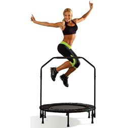 Cardio Trampoline Trainer With Handle Jumping Accessories Fi