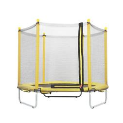 "60"" Round Youth Kids Trampoline Combo w/Enclosure Net Pad Bo"