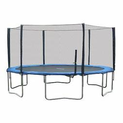 Super Jumper Combo Trampoline, Blue, 16-Feet