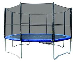 Super Jumper Trampoline Combo , Blue, 12-Feet