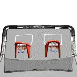 double basketball hoop accessory for 12 round