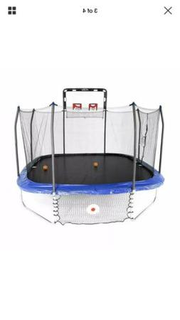 Double Basketball Hoop - Fits 12' Square 8 Pole Skywalker Tr
