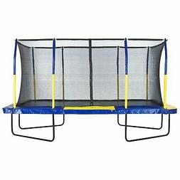 Upper Bounce Easy Assemble Spacious Rectangular Trampoline w