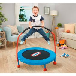 Little Tikes Easy Store 3' Trampoline with Hand Rail