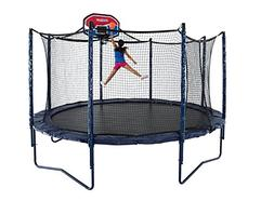 JumpSport 12' Elite Basketball Package | Includes Trampoline