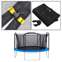 Premium Enclosure Safety Net Replacement for Trampoline - 15