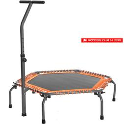 Exercise Fitness Trampoline Home Workout Cardio Training wit