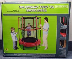 """My First 55"""" Trampoline with Enclosure"""