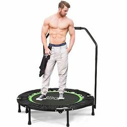 """ANCHEER Fitness Exercise Trampoline with Handle Bar 40"""" Fold"""