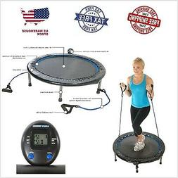 Fitness Trampoline For Adults Oval Jogger Cardio Workout Exe