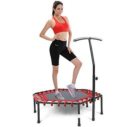 Safly Fun Fitness Trampoline Mini Trampoline for Adults/Kids