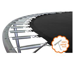 "Fits 14-Ft Frame  | 12' 3"" Trampoline Mats w/- 88 v Rings us"