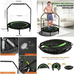 "ANCHEER Foldable 40"" Mini Trampoline Rebounder Max Load 300L"
