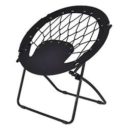 Giantex Folding Bunjo Bungee Chair Outdoor Camping Gaming Hi