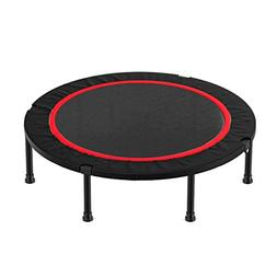 Trampolines 40 Inches Folding Indoor with Safety Pad, Mini F
