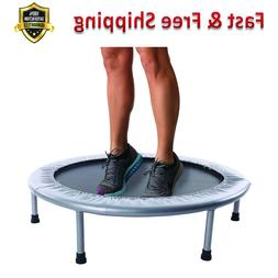 Folding Trampoline 36 Inch Quiet Safe Bounce Six Detachable