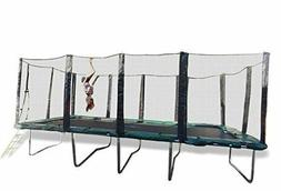 Happy Trampoline - Galactic Xtreme Gymnastic Rectangle Tramp