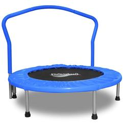 Gardenature Trampoline-36 Trampolines Portable For Kids-Blue