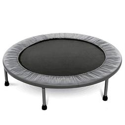 "MOONBUY 38"" in-Home Mini Folding Trampoline, Safe Elastic Ex"