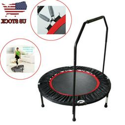 Household Folding Trampoline Gym Commercial Bounce Adult Rou