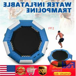 Inflatable Water Trampoline 17Ft Jump Floated Bounce Lounge