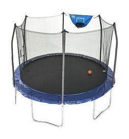 Skywalker Trampolines Jump N' Dunk Trampoline with Safety En