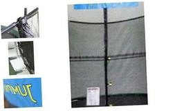 JumpKing 14' x 17' Enclosure Net Oval for 8 Poles with JK Lo