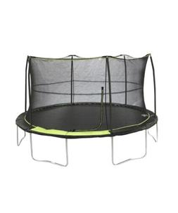 JumpKing 14ft Trampoline with 6 Pole Enclosure Brand New*‼