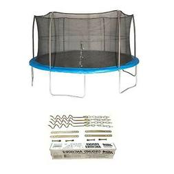 JumpKing 15 Foot Trampoline with Net and XDP Recreation Meta