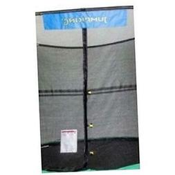 JumpKing 8' x 12' Enclosure Net Oval for 8 Poles with JK Log