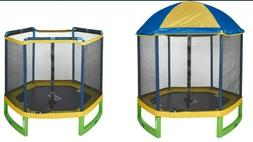 Jumpzone 7ft Trampoline & Enclosure Combo Great for Kids. Ha