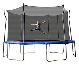 Kinetic Trampolines K14D-BE Trampoline with Enclosure, Blue,