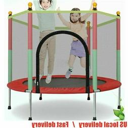 kids 5 ft play trampoline exercise jumping