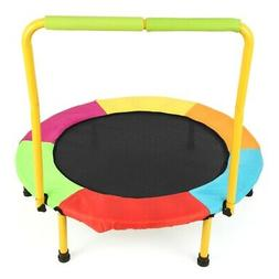 Kids Trampoline Safe Foldable - 36 Inch with Padded Frame Co