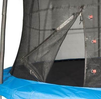 JumpKing 10 Foot Trampoline and Safety Net Enclosure,