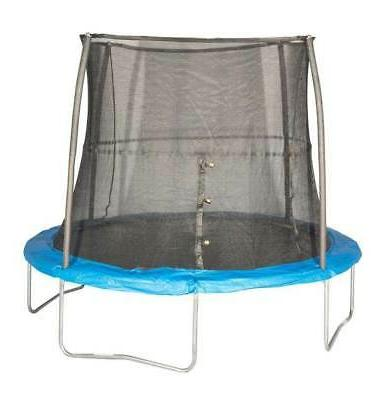 10 foot outdoor trampoline and safety net