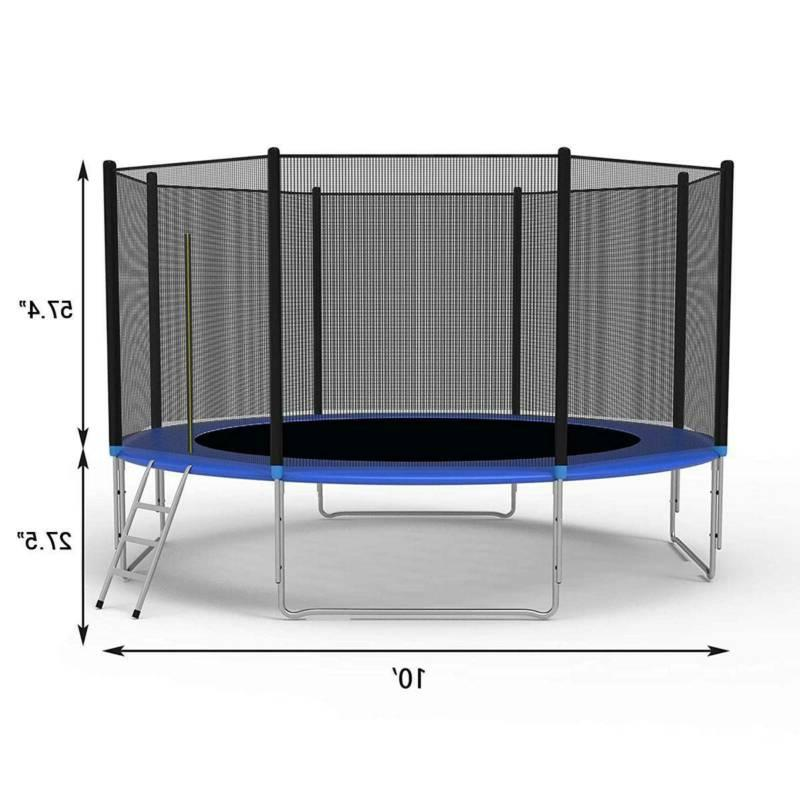 New Combo Jump Safety Enclosure Net