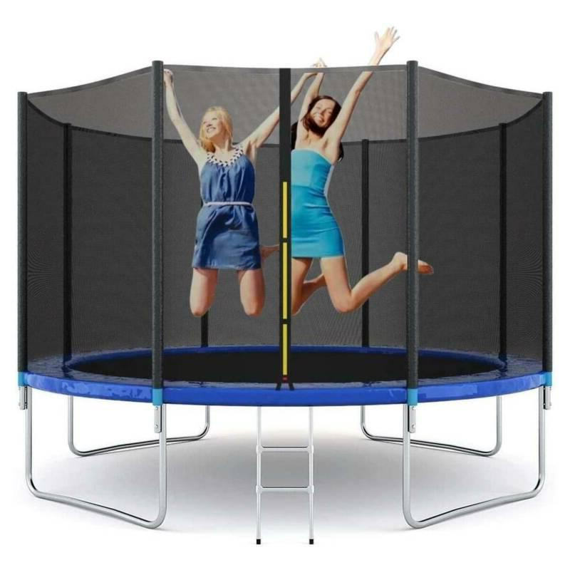 10ft trampoline all round enclosure net jumping