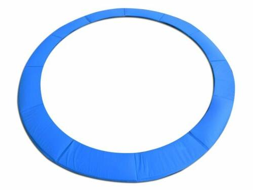 12 foot blue trampoline pad fits up