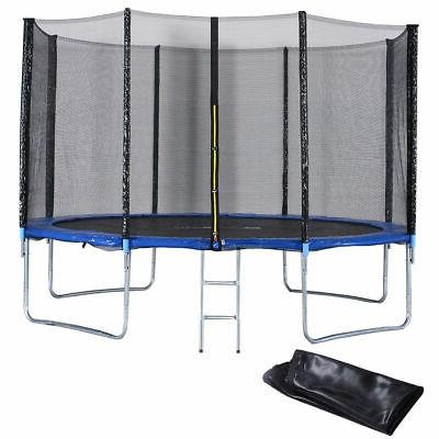 12 ft trampoline combo w safety enclosure