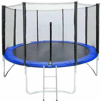 12 trampoline combo bounce jump safety enclosure