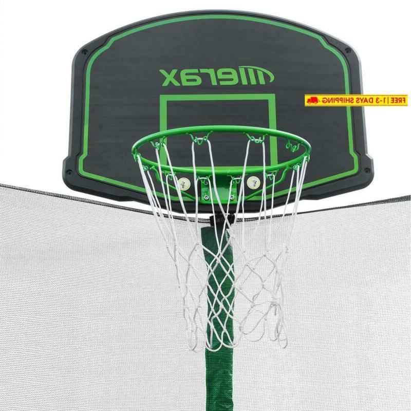 Merax 12Ft Trampoline With Safety Net,