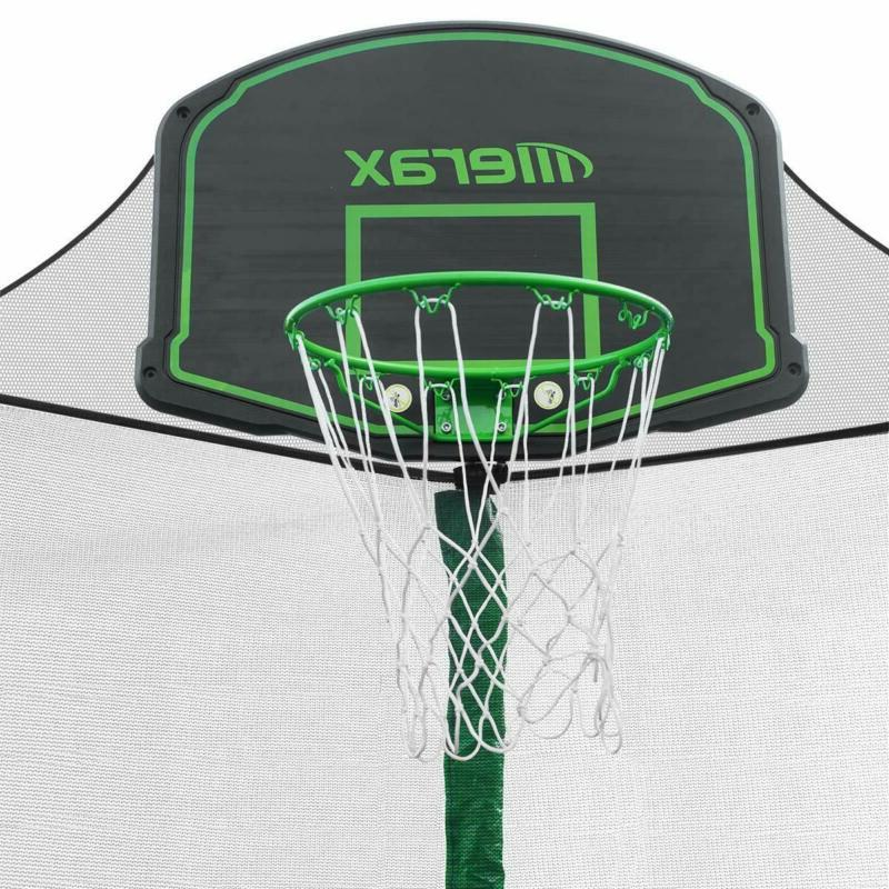 Merax 14 Trampoline With Basketball